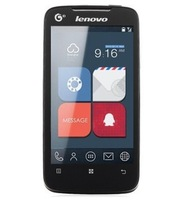 2013 free shipping Original New Lenovo A390t phone  Dual Core Phone 4 inch Android 4.0 GPS WCDMA 3G Smart Phone Russian support
