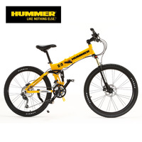 2014 H ummer SF-2630FD hummer bicycle off-road folding mountain bike 27 oleodynamic double disc