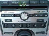 Clarion 6 DVD changer Sat Nav for Legend Acur RL car audio WMA CD DVD MP3 Player