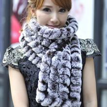 wholesale rex rabbit scarf
