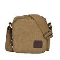 2013 Male Multifunctional Commercial Canvas Messenger Bag One Shoulder Bag Small Casual Male Travel Bags