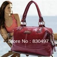 New 2013 Handbags Fashion Vintage Leather Women Handbag Totes Women Messenger Bags Shoulder Bag women bag, promotion 4 colors