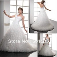 Free Shipping ! Factory Direct Sell Low Price Ball Gown Wedding Dress Heavy Skirt  ---  AA109