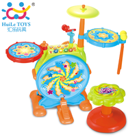 Department of music jazz drum 666 yue multifunctional child musical instrument baby drum rack electronic drum child early