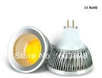 HOT SALE 5W LED  MR16 AC95-265V  ALUMINUM SPOT LIGHT COB  AL BULB FREE SHIPPING NOT  DIMMABLE
