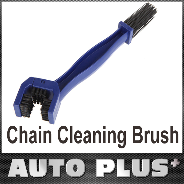 Cycling Motorcycle Bicycle Chain Crankset Brush Cleaner Cleaning Tool Blue Bike Clean Accessory(China (Mainland))