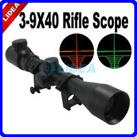3~9X40 Green&Red Illuminated Hunting Riflescope CN F-11