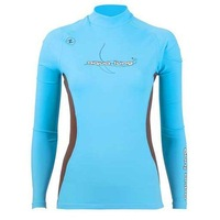 Aqualung women's long-sleeve submersible aureateness sun protection clothing submersible service split snorkeling horse
