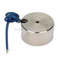Metal 50kg Electric Lifting Magnet Holding Electromagnet 12V DC 500N
