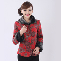Winter women's tang suit top cheongsam tang suit mother clothing gw030