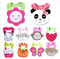 100% cotton baby suff bibs & burp cloths one piece