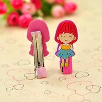 Korean fashion cute cartoon children's hair clip free shipping girls long section level
