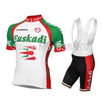 New Arrival! Hot 2014 Euskadi Cycling Jersey Short Sleeve / ropa ciclismo men / 09-199 cycling clothing set Free Shipping!