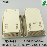 10  pieces a lot     PLC electrical box enclosure   155*110*60 mm 6.1*4.3*2.4inch