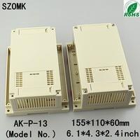 10pcs enclosures for electronics electronics enclosure plastic case electronics 155*110*60 mm 6.1*4.3*2.4inch