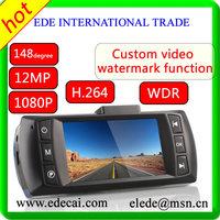 2013 NOV Newest Car DVR Full HD Black Box 1920x1080P @ 30 fps Video cam Front Camera recorder