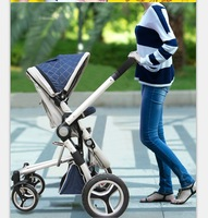 Baby stroller GOODBABY car umbrella two-way suspension folding baby stroller