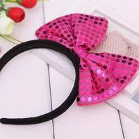 Children headdress Korean fashion bow hair bands headband models shipping