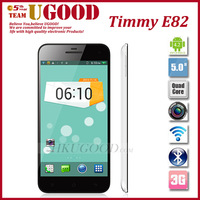 "Timmy E82 Quad Core Android phone Android 4.3 Os MTK6582 1.3GHz Smartphone 5.0"" OGS 720p Screen 8.0Mp Rear Camera 6.9 ultrathin"