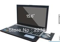 DHL free  15.6 inch notebook with dvd rom 4gb ram+500gb hd wifi