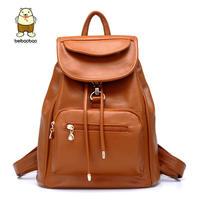 2014 mochila leather bags Spring, summer,preppy style backpack female backpacks women printing