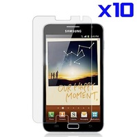 10pcs Clear Screen Protector For Samsung Galaxy Note i9220 screen protector film for galaxy note GT-N7000