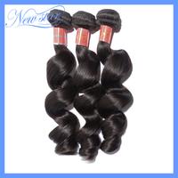 3 bundles lot mixed new star brazilian virgin human hair weaves, 6A grade new loose weave, 100gram/3.5oz each DHL free shipping