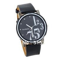 WoMaGe 9678-1 women dress watch Women's PU Leather Band Analog Watch digital watch