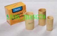 Bamboo cupping kit, bamboo tube