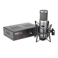 Top Quality Takstar cm-450-l vacuum tube professional condenser microphone broadcasting recording studio microphone Aluminum Box
