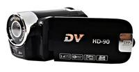 HD 720p digital camcorder with  2.4'' TFT  270 rotation display max 12.0 mega pixels 4 x digital zoom free shipping  HD-90