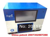 Moving nail salon Nail printer, cheap personality nail printer,Diy nail art,10 inches touch screen 9z