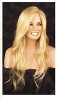 European Hair Free Shipping New fashion long Blond brown women wig