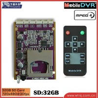 1 ch SD card dvr moudle home use mini dvr moudle ,1CH SD DVR / MINI DVR moudle