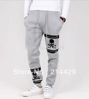New Men autumn winter thicken casual sports Long pants Straight trousers  M-XXL free shipping Sweatpants Slacks