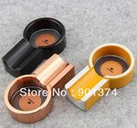 MINI COHIBA Cigar ashtray ( fashion ,metal  ,round)for 1 finger -FREE SHIPPING