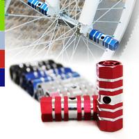 Mountain bike aluminum alloy foot hexagonal tube rocket tube back seat foot pole socks rod mat