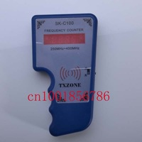 Frequency Indicator Detector Cymometer Remote Control Transmitter Frequency Meter Scanner Frequency Counter Wavemeter 250-450MHZ