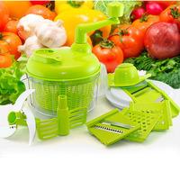 Free Shipping Large Multifunctional food processor / manual fruits vegetables meat cutter  / broken shredder Size:24*24*21cm