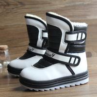 2013 winter child snow boots male female child boots fleece waterproof medium-leg boots cotton-padded shoes