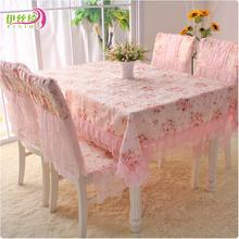 popular pink floral tablecloth