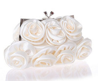 Women Pearl Evening Bag  Clutch Gorgeous Bridal Wedding Party Chain Bag Handbag H09 Free Shipping