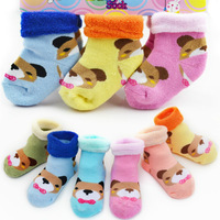 Free Shipping Baby socks baby cotton socks kids boy socks autum and winter socks 12pairs/lot