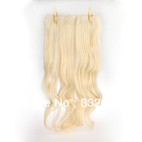 Lace toupee GS-888 60# Clips-in Hair extension synthetic hair
