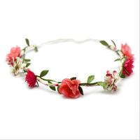 Hair accessory bride banquet halo flower wreath hair bands hair band tousheng