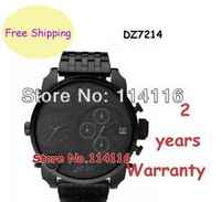 Brand New Black Ion Stainless Steel Bracelet Mens Watch DZ7214 7214 Gents Wristwatch + Original Box