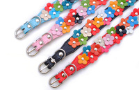 Pet dog collar small dogs necklace teddy flower small flower cat  D11