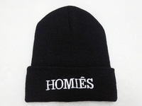 """The new 2014 homies knitted beanie hat fashion winter cap of men and women knitted hats """"women hats women's hats free shipping"""