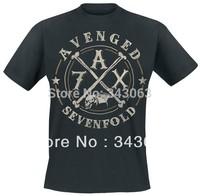 Avenged Sevenfold A7X 3D Brand High Quality new mma hot skull items shirt fitness Hardrock heavy Dark Metal 100%Cotton 04