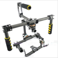 Universal handheld SLR three-axis stabilization brushless PTZ gimble including motor GMB - 180 - t suitable for 5D3 SLR